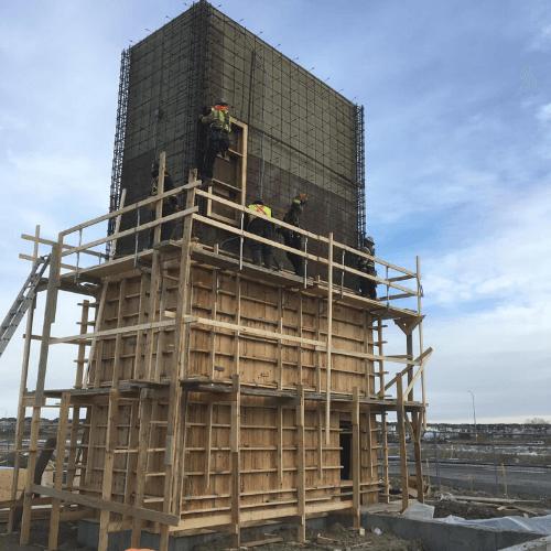 Commercial Concrete Structure | B Jacob Construction Concrete Services